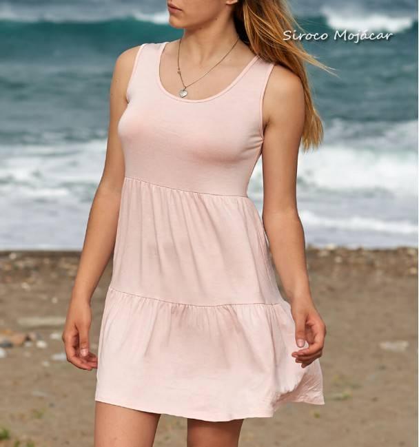 Vestido Tania rosa