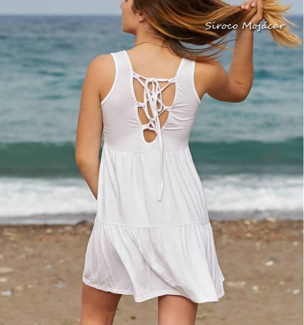 Vestido Tania blanco
