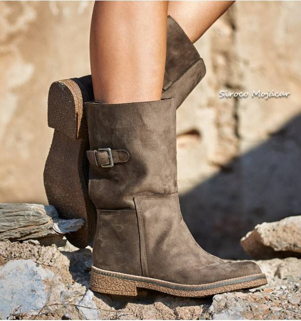 Botas Chester Taupe