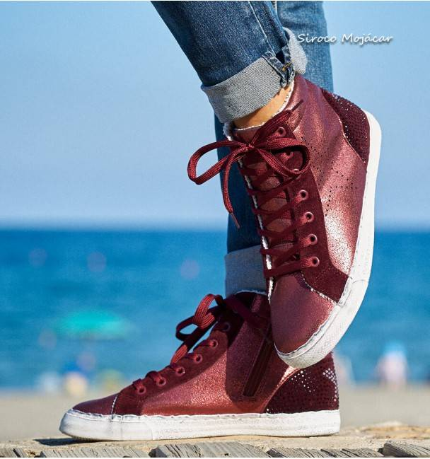 Deportivas Old Style Red