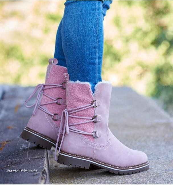 Botas Cadaqués Pink