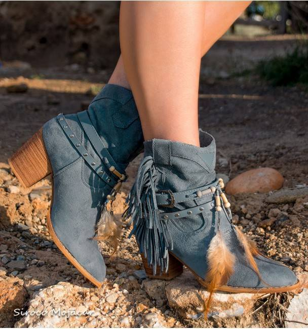Botas Camperas Baltimore Denim