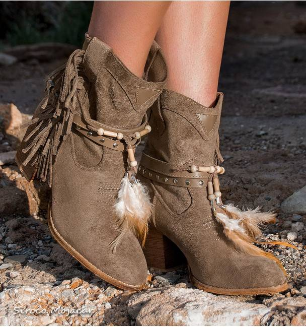 Botas Camperas Baltimore Khaki