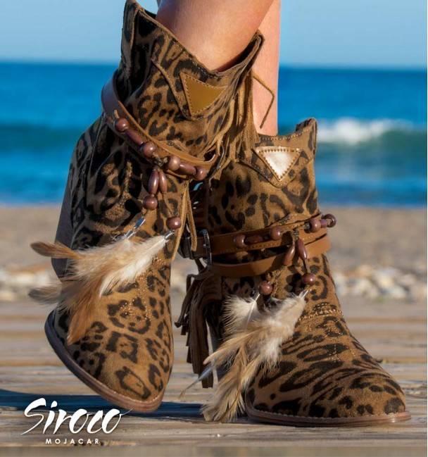 Botas Penny Leopard