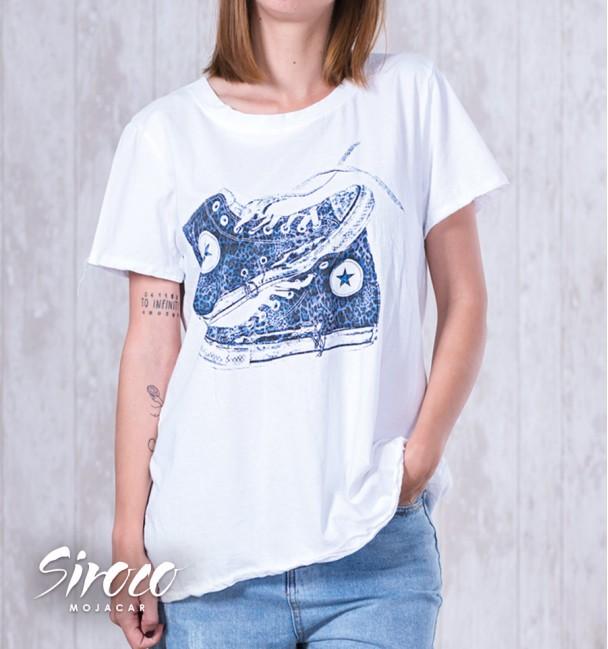 Camiseta Tenis Azul