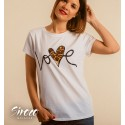 Camiseta Love Leopard