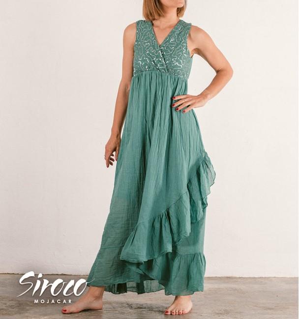 Vestido Mirena Turquesa