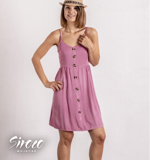 Vestido Denia Rosa