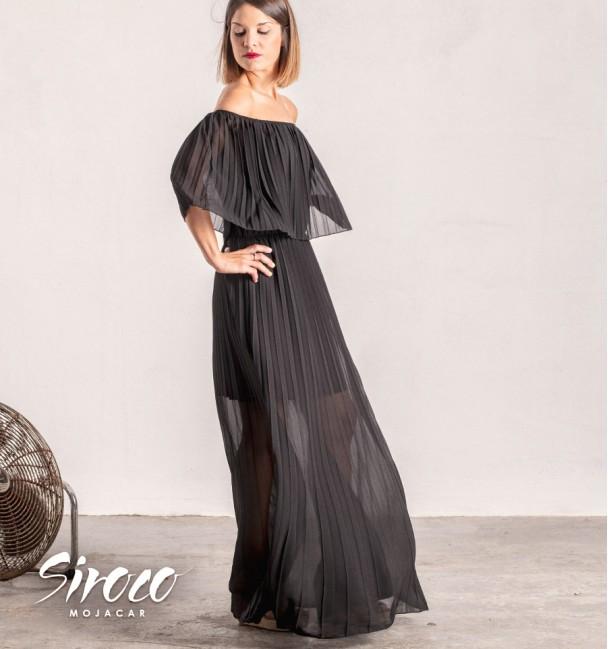 Vestido Carolina Negro