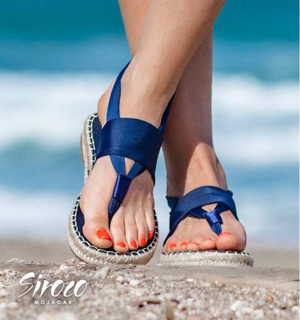 Sandalias Macarella Azul