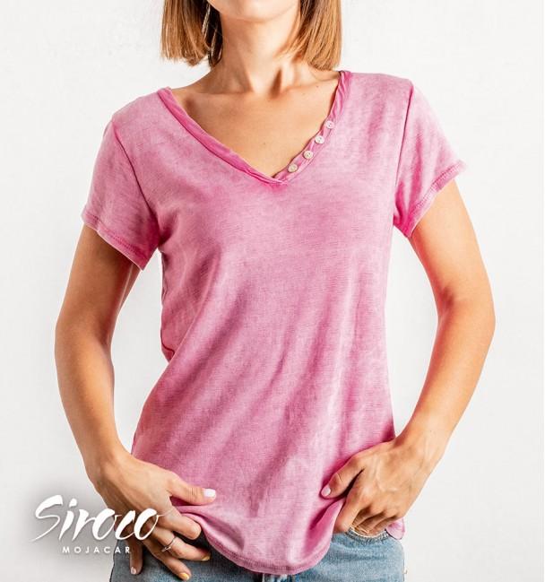 Camiseta Calella Rosa