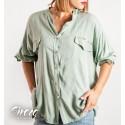Camisa Mica Verde