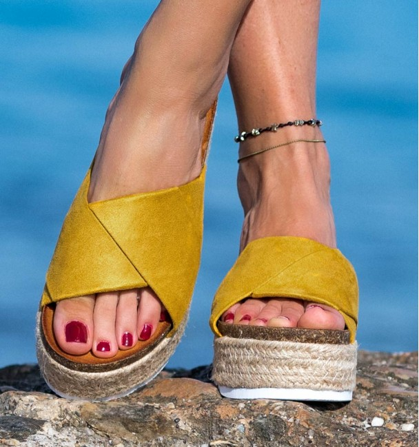Sandalias Yedra Yellow