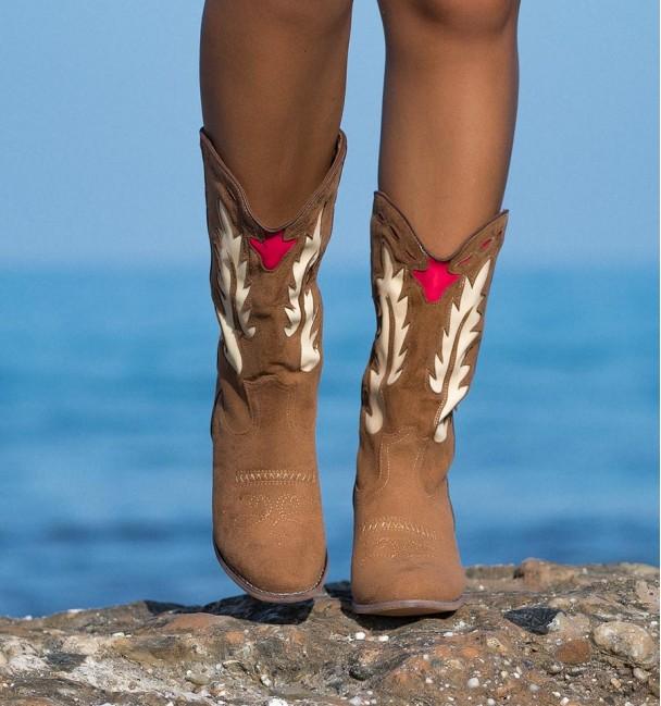 botas estilo camelo apache