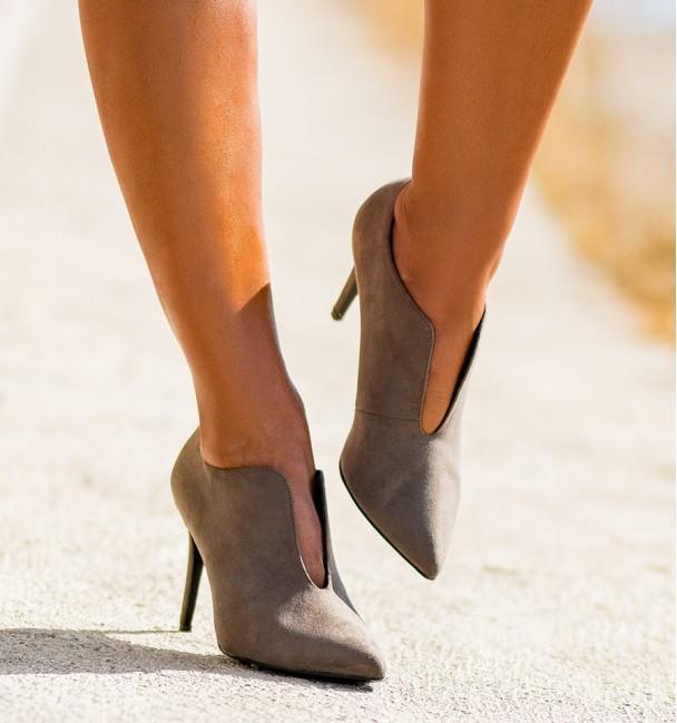 Zapatos Minnie Taupe
