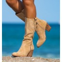 Beige Boots Yoho