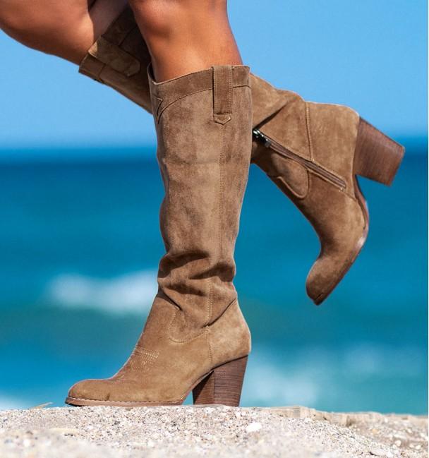 High Boots Cavel Camel