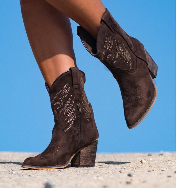 Cowboy Boots Moon Coffee