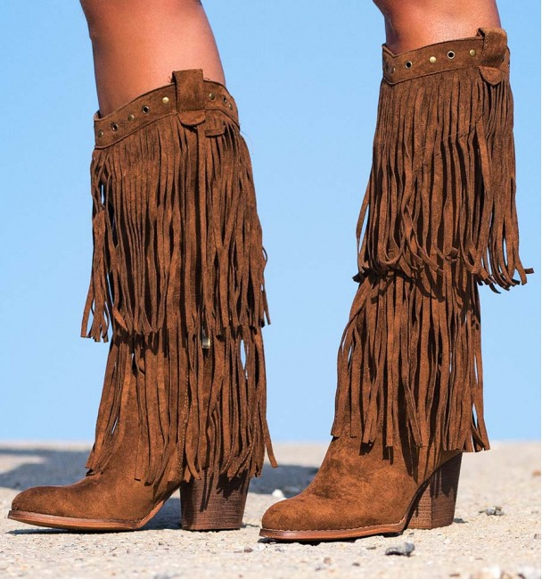 BOOTS INDIAN BROWN