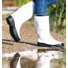 Boots Black-White Rain