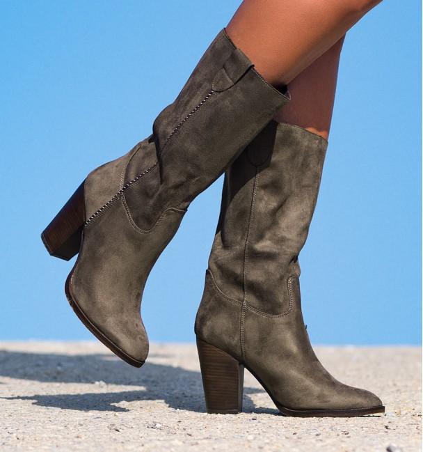 Enol Taupe Boho Boots