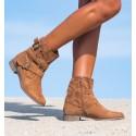 Emeka Camel Boots