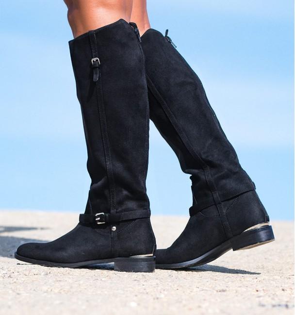 Boots Horse Black