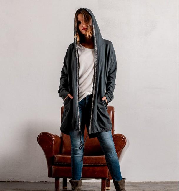 Jacket Lau Grey