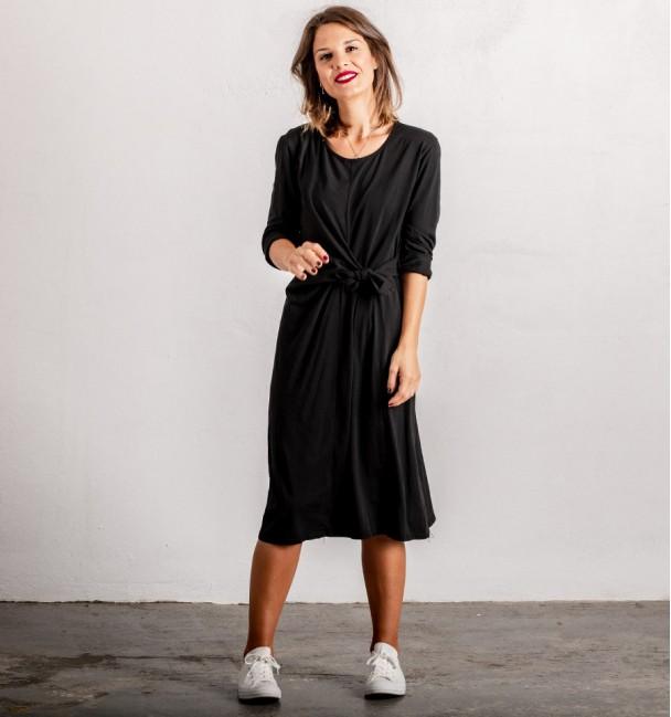 Black Knot Dress