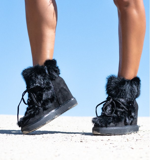 Boots Cool Black