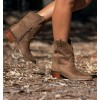 Camel Boots Mini Hollywood