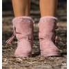 Gante Pink Boho Boots