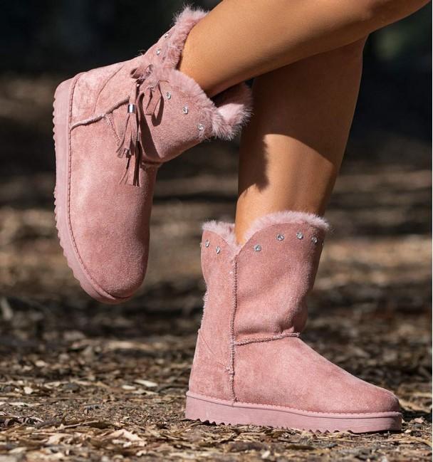 Gante Pink Boots