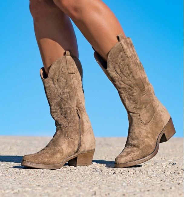 Nanda Khaki Boots