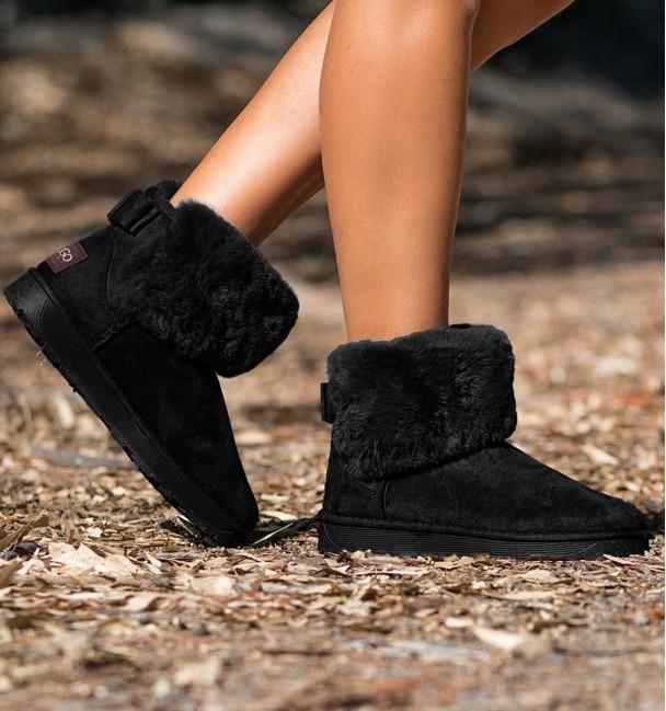 Ordesa Black Color Boots