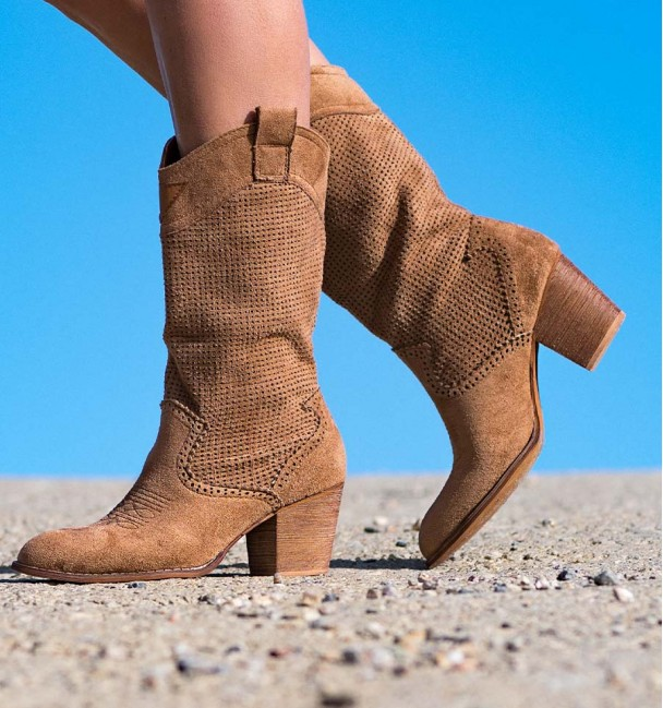 Damasco Brown Cowboy Boots