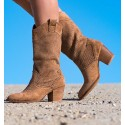 Damasco Brown Boots