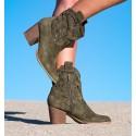 Lambay Green Boots