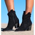 Lambay Black Boots