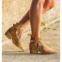 Cameron Camel Ankle Boots