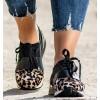 Leopard Sneakers Ties